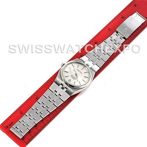 3044 Rolex Oysterquartz Datejust Steel 18K white gold 17014 SwissWatchExpo