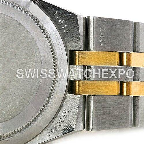 4308 Rolex Oysterquartz Datejust Steel 18K Yellow Gold 17013 SwissWatchExpo
