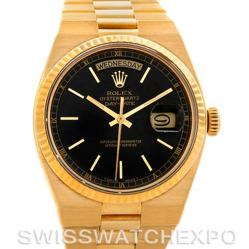 Photo of Rolex Oysterquartz President Day Date 18K Yellow Gold 19018