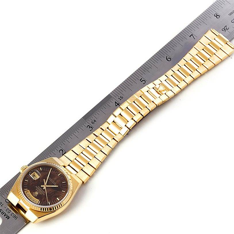 4601 Rolex Oysterquartz President Day Date 18K Yellow Gold Watch 19018 SwissWatchExpo
