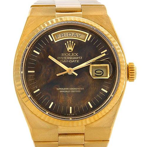 Photo of Rolex Oysterquartz President Day Date 18K Yellow Gold Watch 19018
