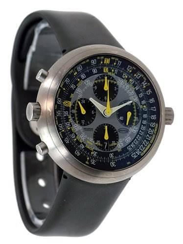Ikepod Megapode Pilot Chronograph Mg01 Gmt By Nelson SwissWatchExpo