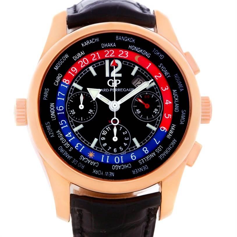 Photo of Girard Perregaux World Time WW.TC 18K Rose Gold Watch 49800