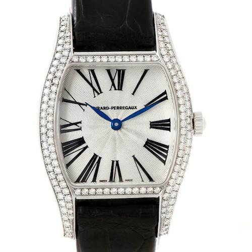 Photo of Girard Perregaux Tortue Stainless Steel Diamond Ladies Watch 2656