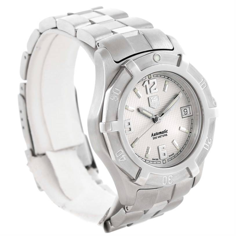 Tag Heuer 2000 Exclusive Automatic Stainless Steel Watch wn2110.ba0359 SwissWatchExpo