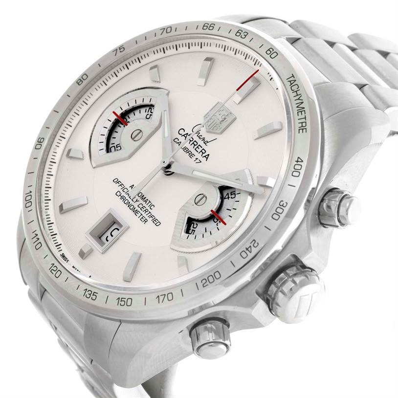 10502 Tag Heuer Grand Carrera Mens Watch CAV511B SwissWatchExpo