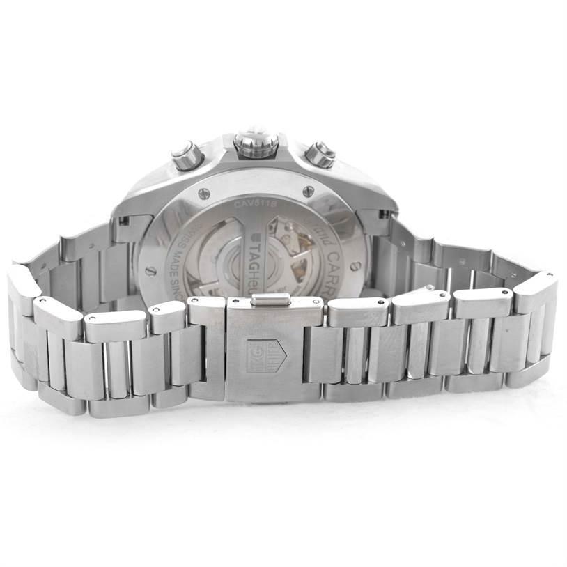 10502 Tag Heuer Grand Carrera Mens Watch CAV511B SwissWatchExpo