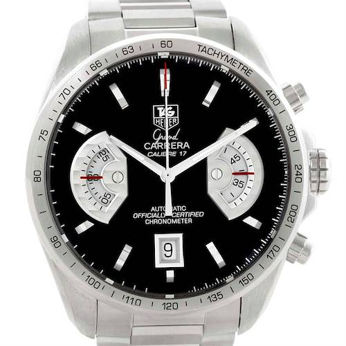 Photo of Tag Heuer Grand Carrera Automatic Mens Watch CAV511A