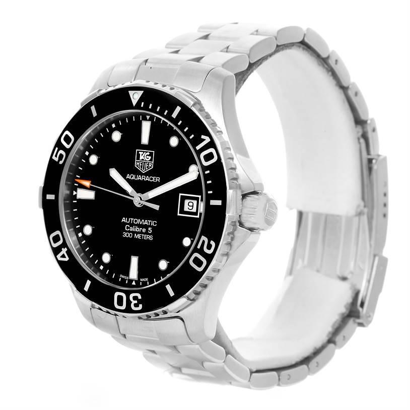 Tag Heuer Aquaracer Calibre 5 Steel Mens Watch WAN2110.BA0822 SwissWatchExpo