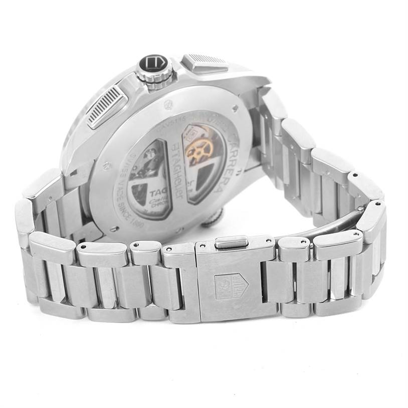 11822 Tag Heuer Grand Carrera Calibre 36 RS Automatic Mens Watch CAV5115 SwissWatchExpo