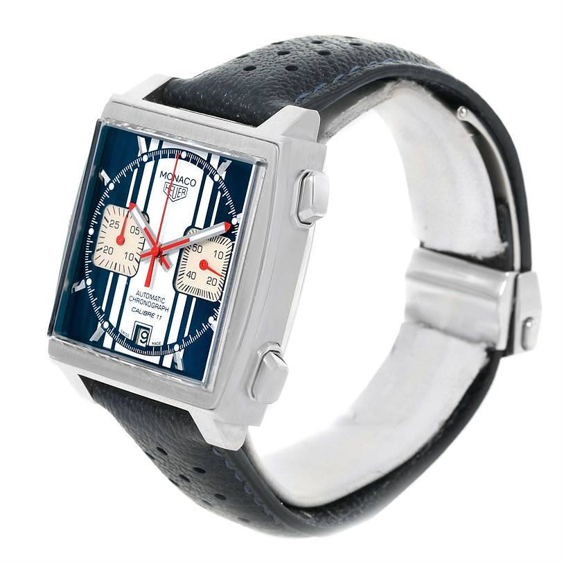 Tag Heuer Monaco McQueen Chronograph Limited Edition Watch CAW211D SwissWatchExpo