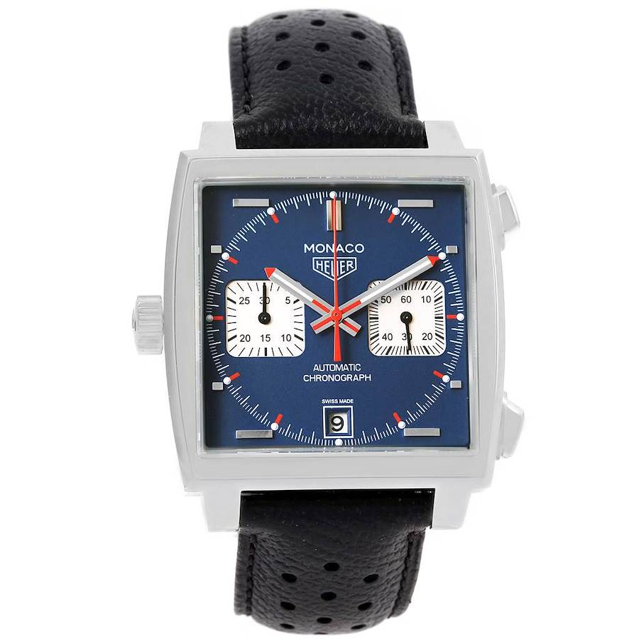 Tag Heuer Monaco Automatic Chronograph Mens Watch CAW211P SwissWatchExpo
