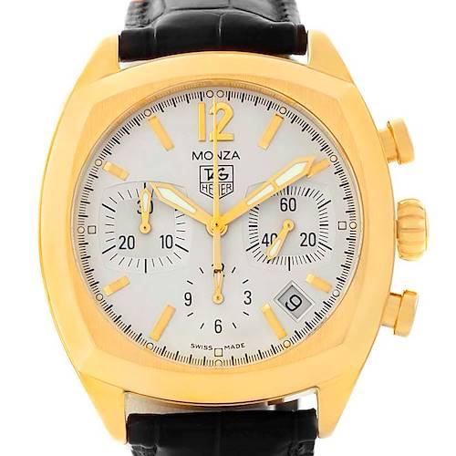 Photo of Tag Heuer Monza 18K Yellow Gold Chronograph Watch CR514A
