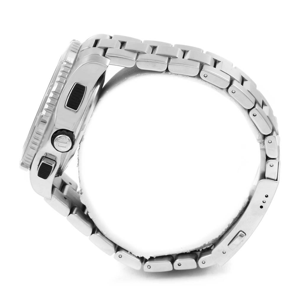 Tag Heuer Aquaracer Black Dial Steel Mens Watch CAK211A SwissWatchExpo
