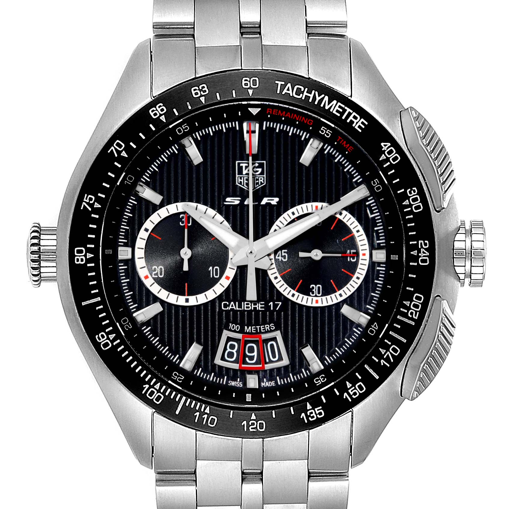 Photo of Tag Heuer Mercedez SLR McLaren Chronograph Mens Watch CAG2010