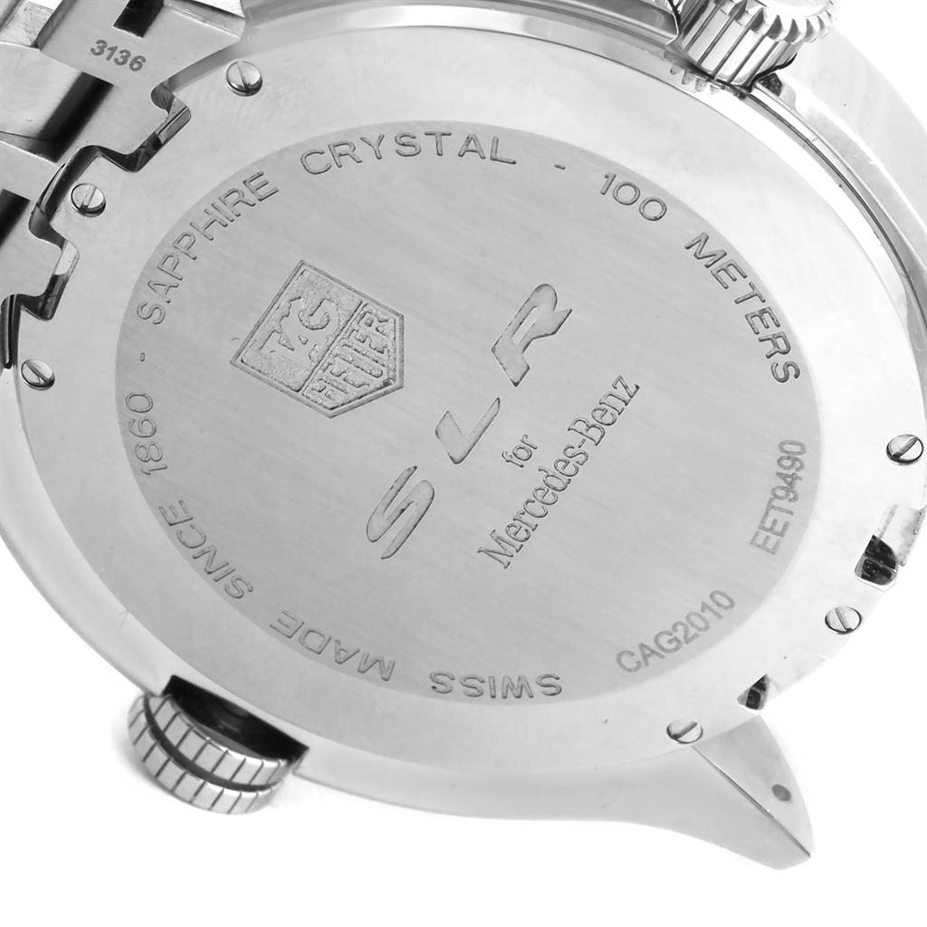 15387 Tag Heuer Mercedez SLR McLaren Chronograph Mens Watch CAG2010 SwissWatchExpo