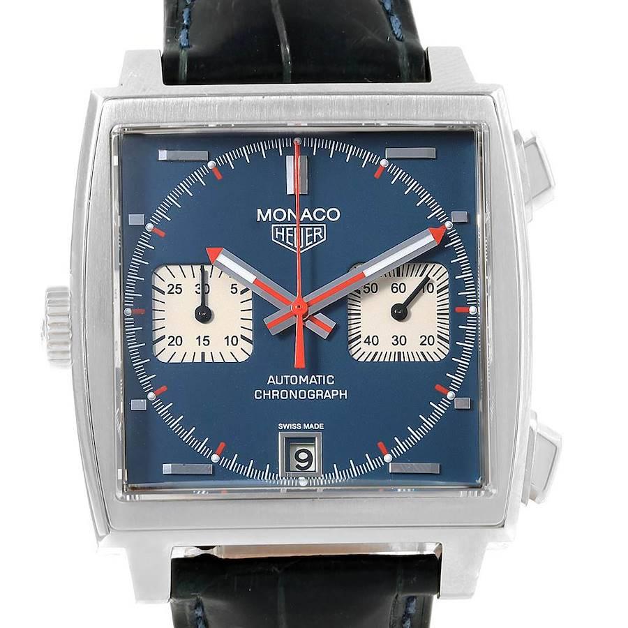 Tag Heuer Monaco 40th Anniversary Steve Mcqueen LE Watch CAW2111 SwissWatchExpo
