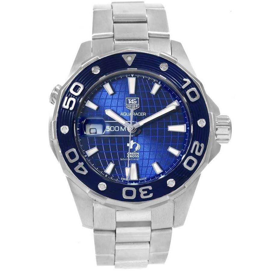 Tag Heuer Aquaracer Leonardo DiCaprio Limited Edition Watch WAJ2116 SwissWatchExpo