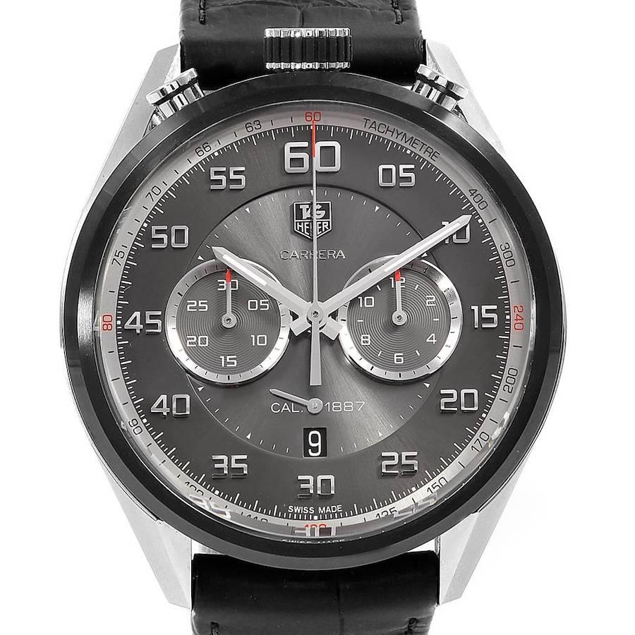Tag Heuer Carrera Chronograph Mens Watch CAR2C12-0 Unworn SwissWatchExpo