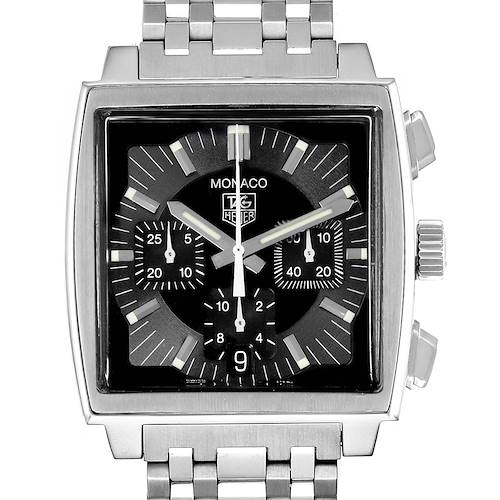 Photo of Tag Heuer Monaco Automatic Steel Mens Watch CW2111
