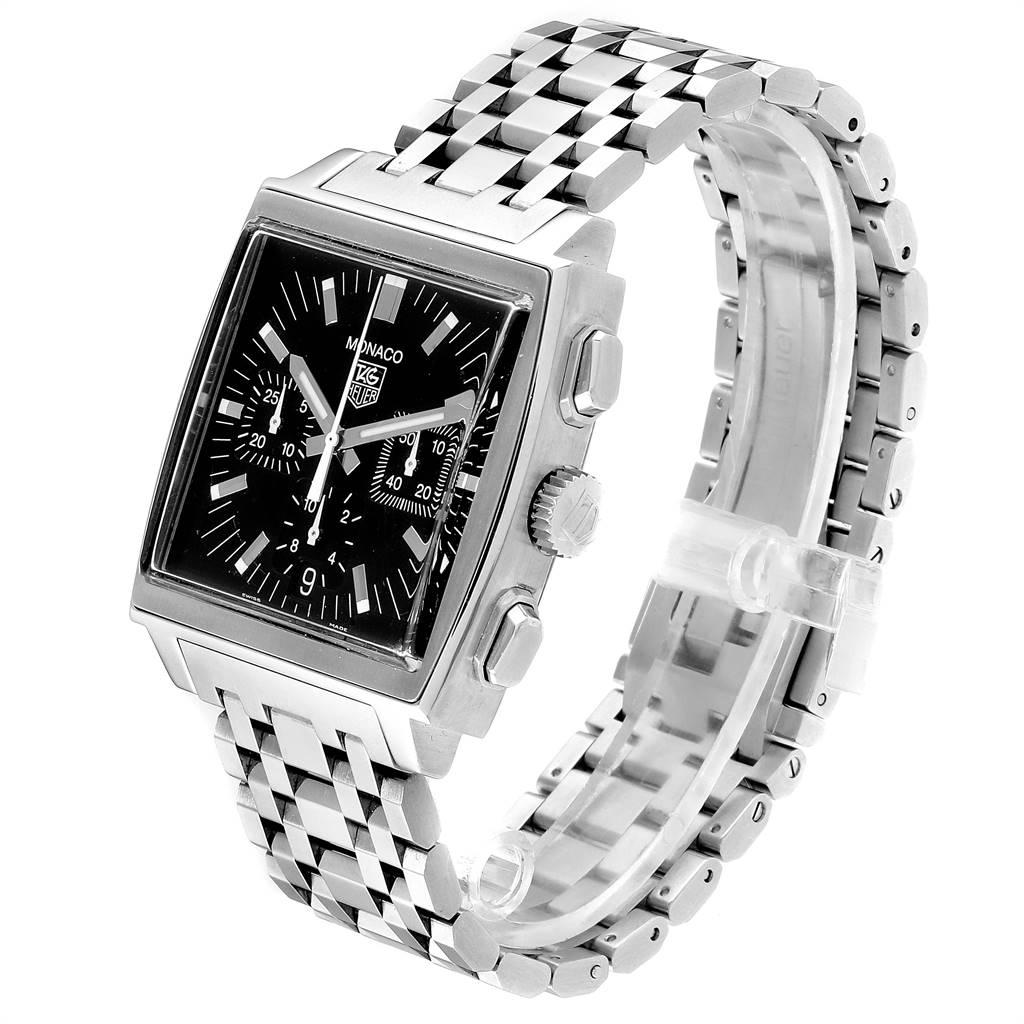 Tag Heuer Monaco Automatic Steel Mens Watch CW2111 SwissWatchExpo
