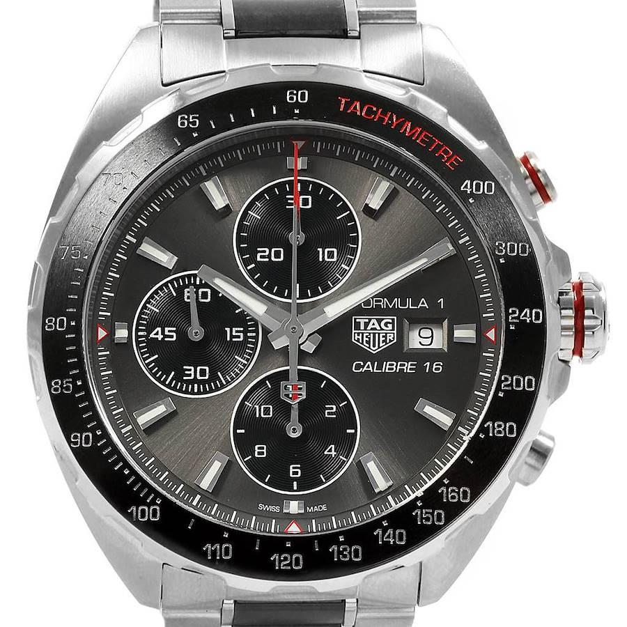 Tag Heuer Formula 1 Calibre 16 Chronograph Mens Watch CAZ2012 Box Card SwissWatchExpo