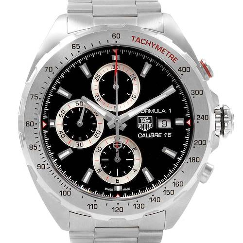 Photo of Tag Heuer Formula 1 Chronograph Steel Mens Watch CAZ2010 Card