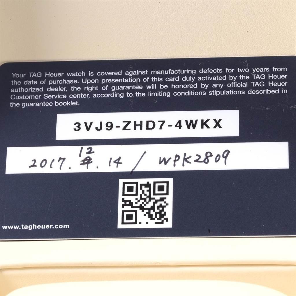 20298 TAG Heuer Carrera Caliber Heuer 01 Skeleton Mens Watch CAR201V Unworn SwissWatchExpo