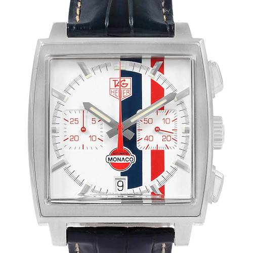 Photo of Tag Heuer Monaco McQueen Chronograph Limited Edition Watch CW2118