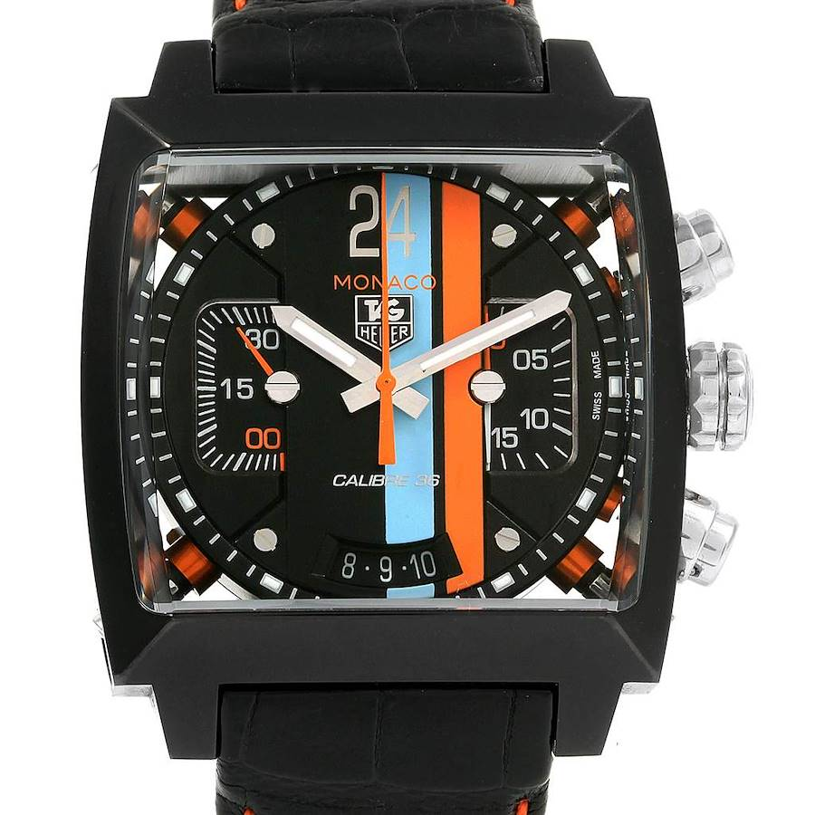 Tag Heuer Monaco Limited Edition Chronograph Mens Watch CAL5110 SwissWatchExpo