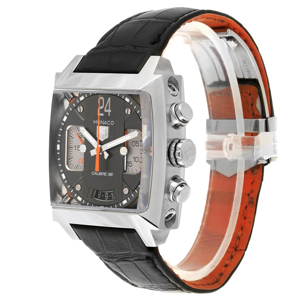 22532 Tag Heuer Monaco Twenty Four Chronograph Mens Watch CAL5112 SwissWatchExpo