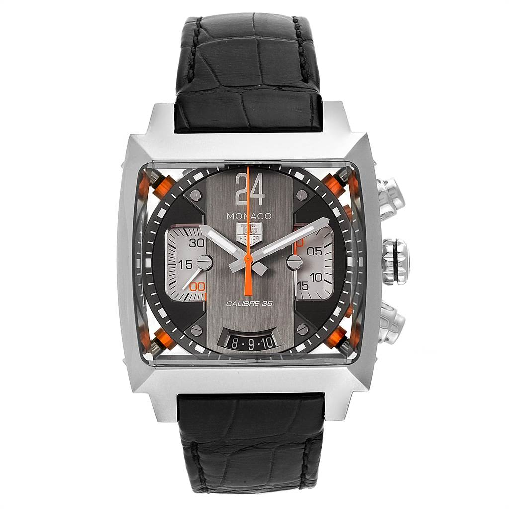 22532 Tag Heuer Monaco Twenty Four Chronograph Mens Watch CAL5112 SwissWatchExpo