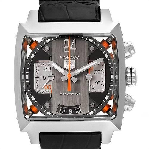 Photo of Tag Heuer Monaco Twenty Four Chronograph Mens Watch CAL5112