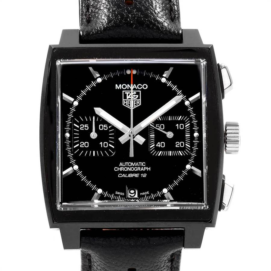 Tag Heuer Monaco Limited Edition Chronograph Mens Watch CAW211M SwissWatchExpo