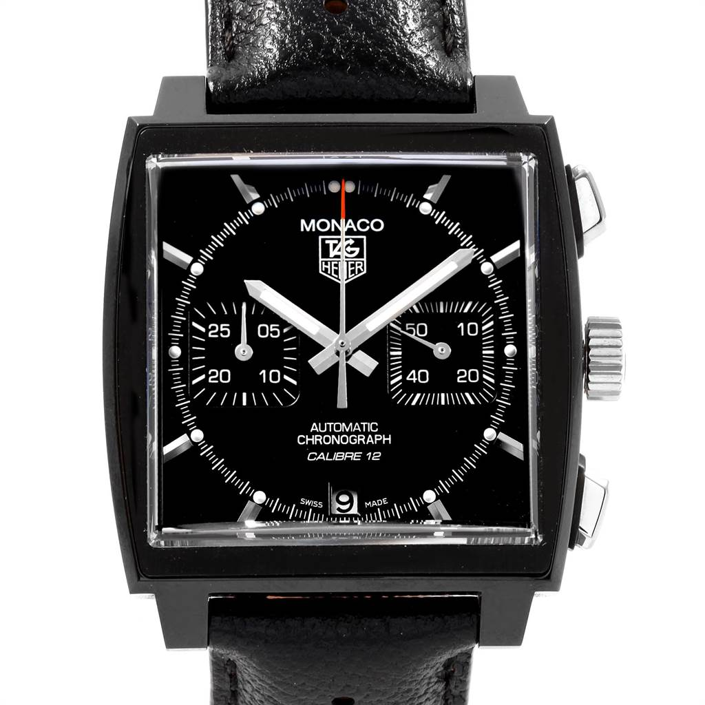 22567 Tag Heuer Monaco Limited Edition Chronograph Mens Watch CAW211M SwissWatchExpo