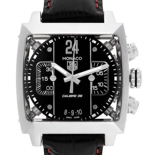 Photo of Tag Heuer Monaco 24 Black Dial Chronograph Mens Watch CAL5113