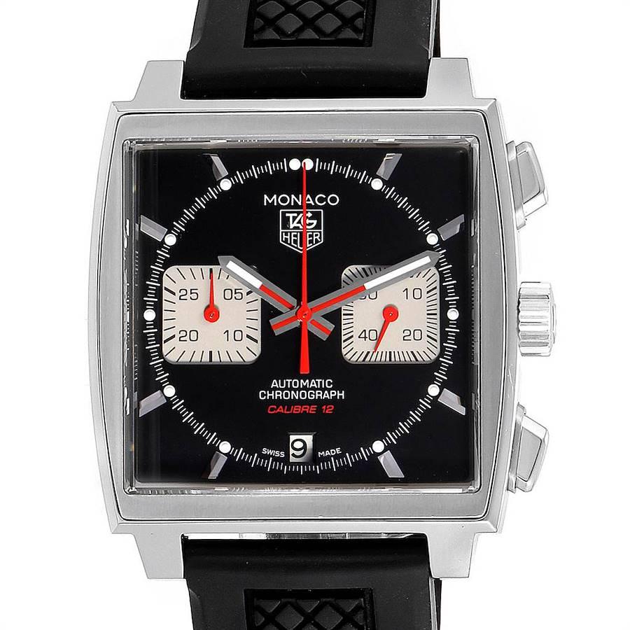 Tag Heuer Monaco Steve McQueen Edition Mens Watch CAW2114 Box Card SwissWatchExpo