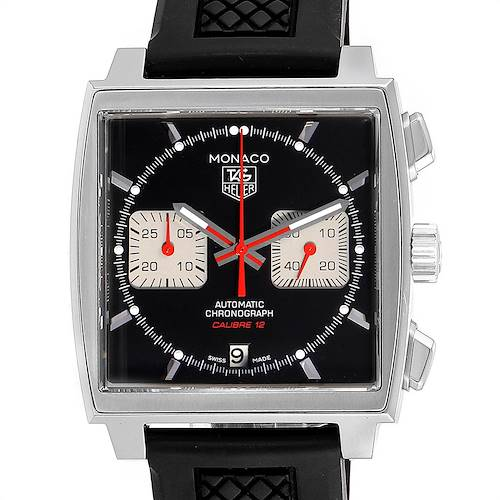 Photo of Tag Heuer Monaco Steve McQueen Edition Mens Watch CAW2114 Box Card