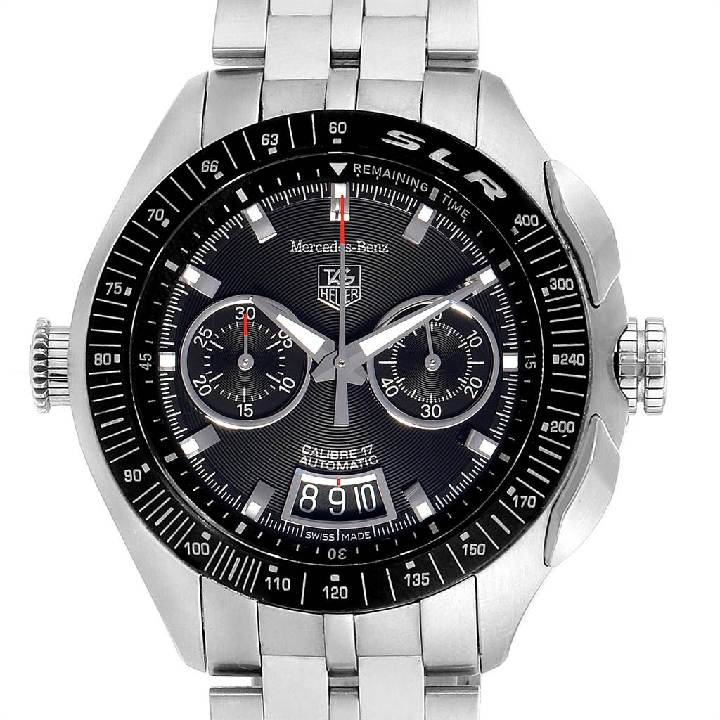 Tag Heuer Mercedez Benz SLR LE Chronograph Mens Watch CAG2111 SwissWatchExpo