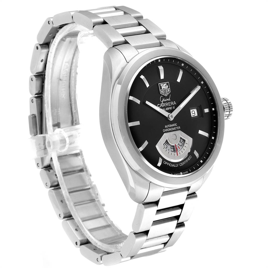 Tag Heuer Carrera Black Dial Automatic Mens Watch WAV511A SwissWatchExpo