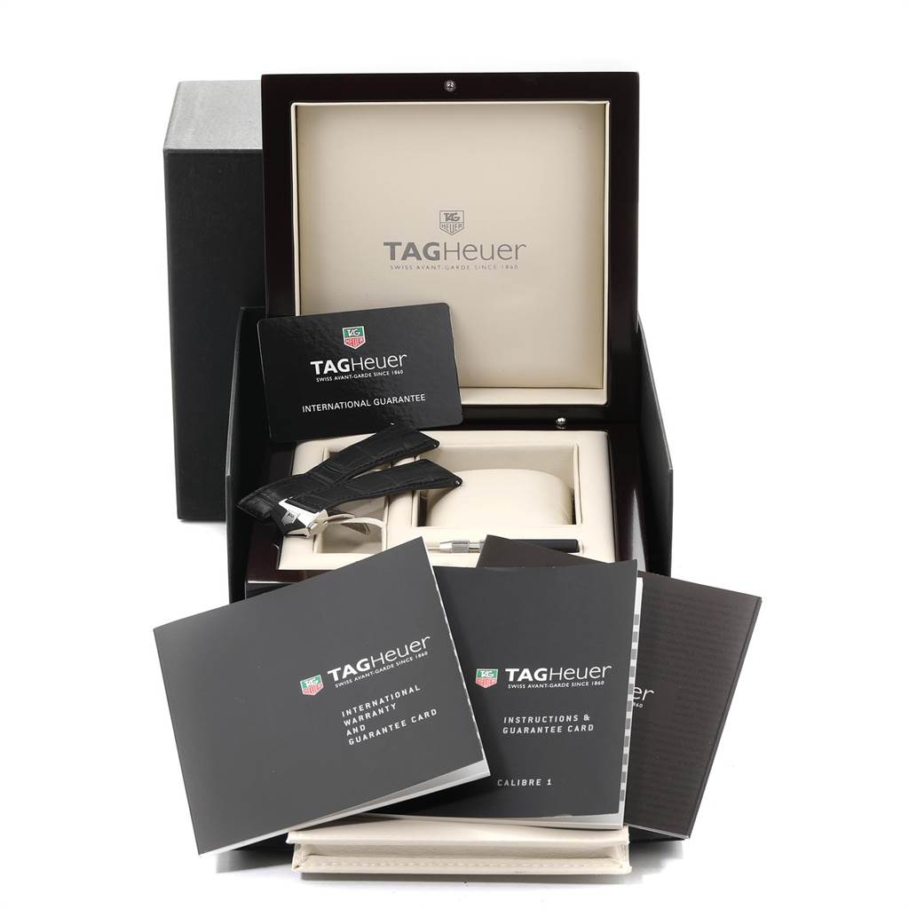 Tag Heuer Carrera Calibre 1 Limited Edition Mens Watch WV3010 Box Card SwissWatchExpo