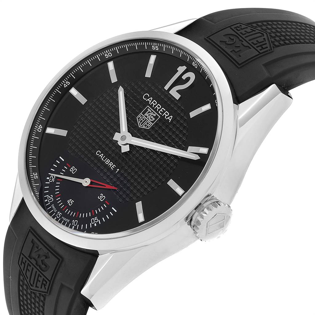 24032 Tag Heuer Carrera Calibre 1 Limited Edition Mens Watch WV3010 Box Card SwissWatchExpo