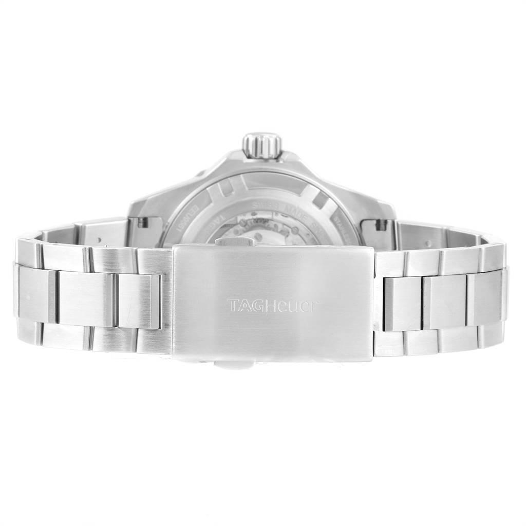 24072 Tag Heuer Aquaracer 43mm Steel Rose Gold Mens Watch WAJ2150 SwissWatchExpo