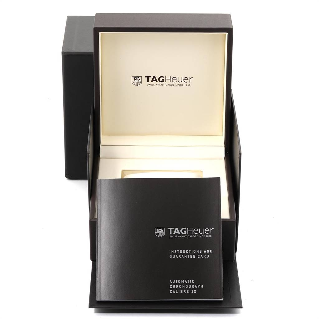Tag Heuer Carrera Automatic Flyback Steel Mens Watch CAR2B10 SwissWatchExpo