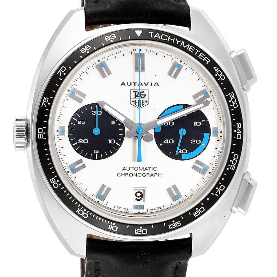 Tag Heuer Autavia Automatic Chronograph Steel Mens Watch CY2110 SwissWatchExpo