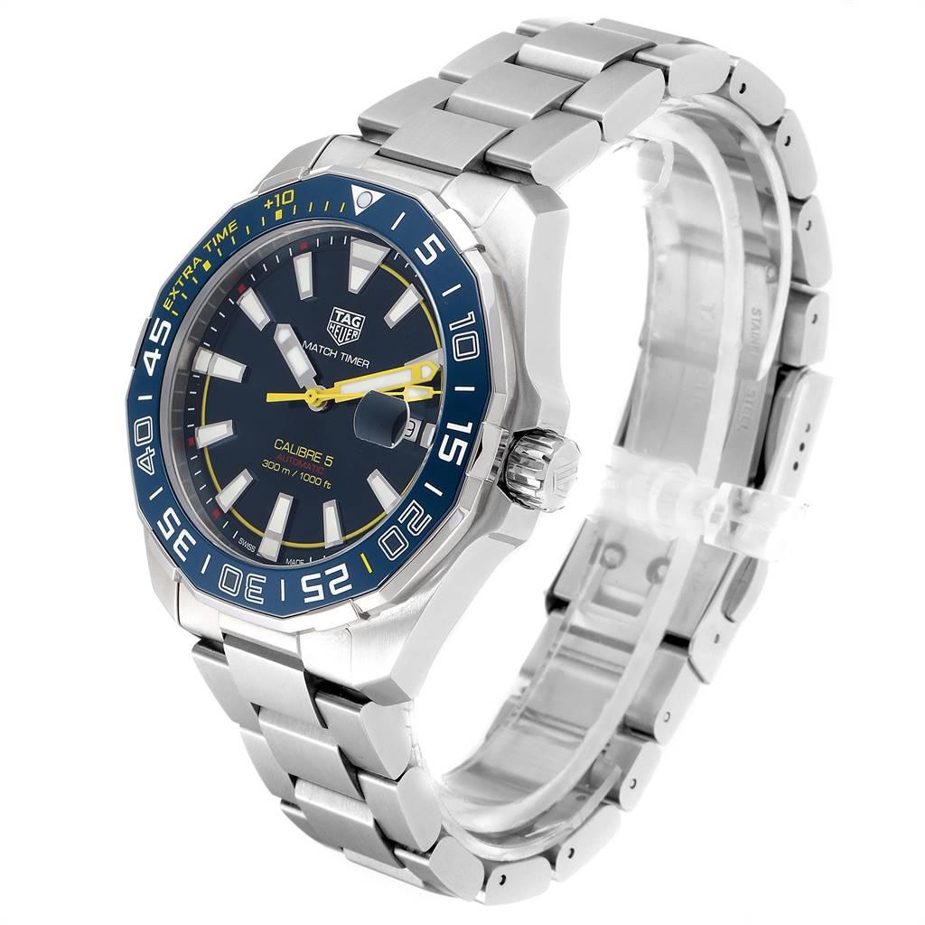 24780 Tag Heuer Aquaracer Shinji Kaga Limited Edition Watch WAY201H Box Card SwissWatchExpo