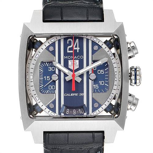 Photo of Tag Heuer Monaco 24 Steve McQueen Automatic Chronograph Watch CAL5111