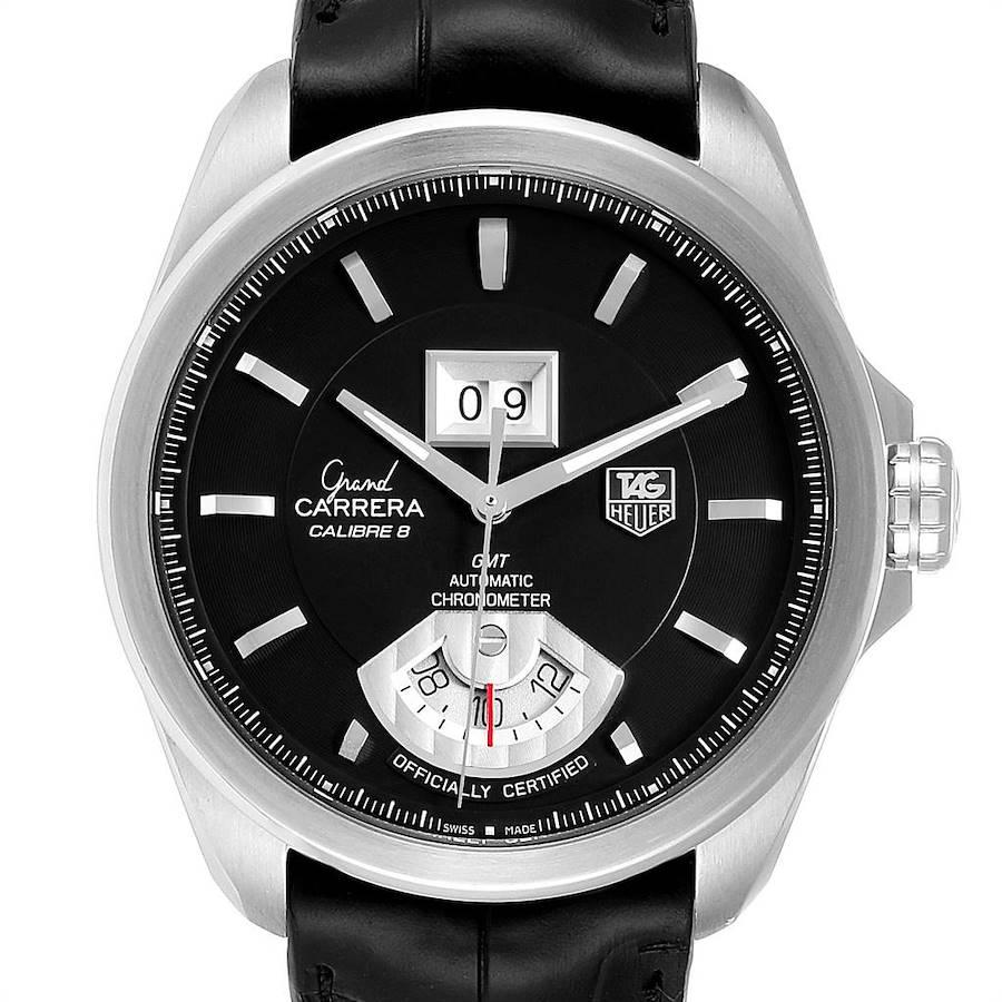 Tag Heuer Grand Carrera GMT Chronograph Mens Watch WAV5111 SwissWatchExpo