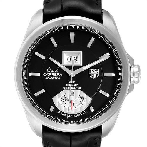 Photo of Tag Heuer Grand Carrera GMT Chronograph Mens Watch WAV5111