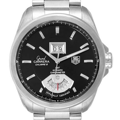 Photo of Tag Heuer Grand Carrera GMT Chronograph Mens Watch WAV5111 Box Card